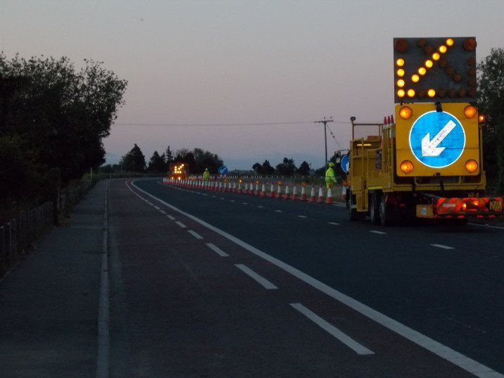 Traffic Management Specialists in Northern Ireland - McVeigh Contracts Ltd