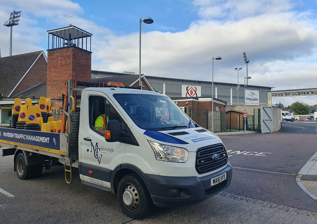 Event Traffic Management Specialists in Northern Ireland - McVeigh Contracts Ltd